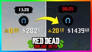 This Trick Will Make You More MONEY, GOLD BARS & XP POINTS By Finishing Missions In Red Dead Online!