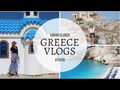 GREECE VLOG | THE BEST GREEK ISLANDS YOU DIDNT KNOW ABOUT + OUR THOUGHTS ON VISITING ATHENS?