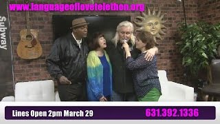 """That's  What Friends are For"" -ReneMarie Stroke of Luck -Language of Love Telethon Team"