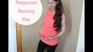 My postpartum recovery and workout plan to help diastasis after labor