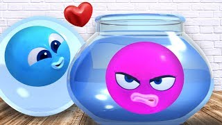 New Episode | Play With Water Colors | Wonderballs | Cartoon For Children | Cartoon Candy