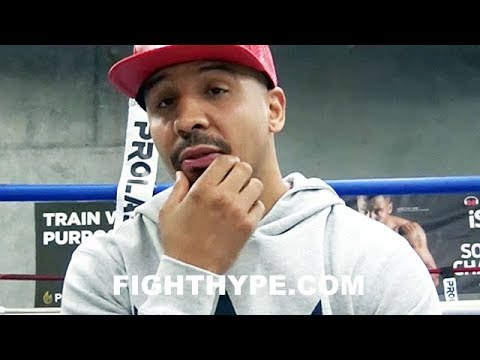 "ANDRE WARD TELLS ALL ON ""TOUGH DECISION"" TO RETIRE; 25-MINUTE EXCLUSIVE ON RETIRED LIFE"