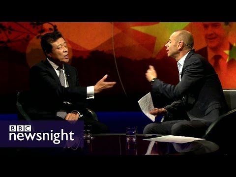 China's ambassador to UK on trade, democracy and human rights - Newsnight