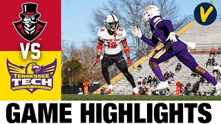 Austin Peay vs Tennessee Tech Highlights| 2021 Spring FCS College Football Highlights