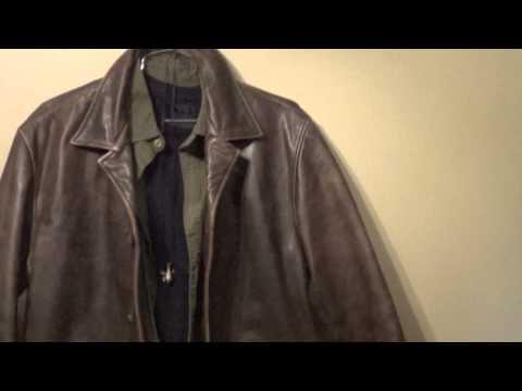 """Supernatural Dean Winchester Wardrobe Part 3 """"Wilson Leather Jacket"""""""