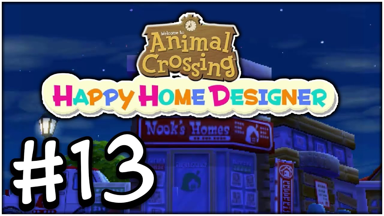 Animal crossing happy home designer part 13 doctor 39 s for Wallpaper happy home designer