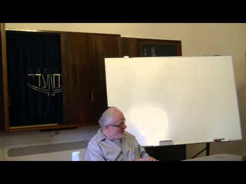 Rabbi Prof. Joel Roth - The Halachic Process (Hebrew) 1/3