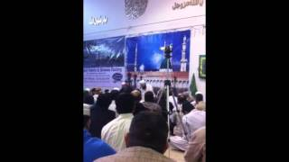 Awais qadri in Calgary Al Madeena Islamic centre