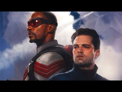 Falcon And Winter Soldier - Opening Titles - Disney+ TV Series Concept