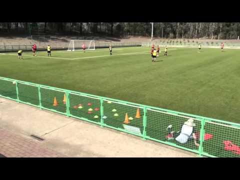 Danny Thomson FFA B Licence Game training High Press