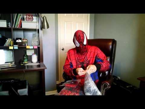 RPC studio Spider-man tasm2 suit unboxing