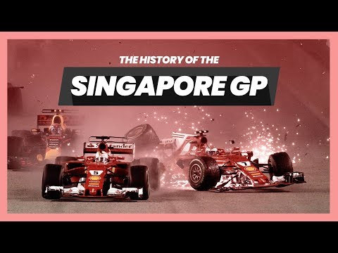 The History of the Singapore Grand Prix