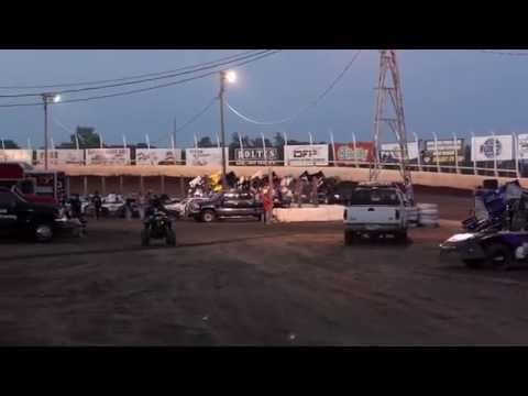 Huset's Speedway 305 Sprint Car A-Main - June 28, 2015