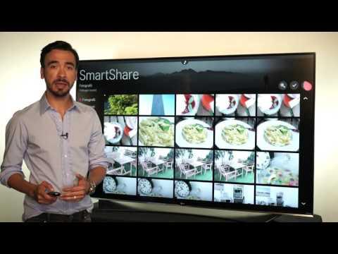 LG TV - SmartShare  Partajare Continut
