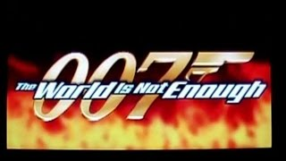 007 The World is Not Enough Intro HD PS1