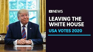 Trump says he will leave the White House if Joe Biden is confirmed by electoral college | ABC News