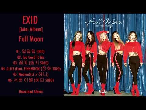 [Mini Album] EXID – Full Moon (MP3 + DOWNLOAD)