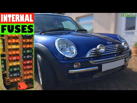 how to check fuses on mini r50 r53 2000 2006 first 2010 Mini Cooper Window Fuse Location