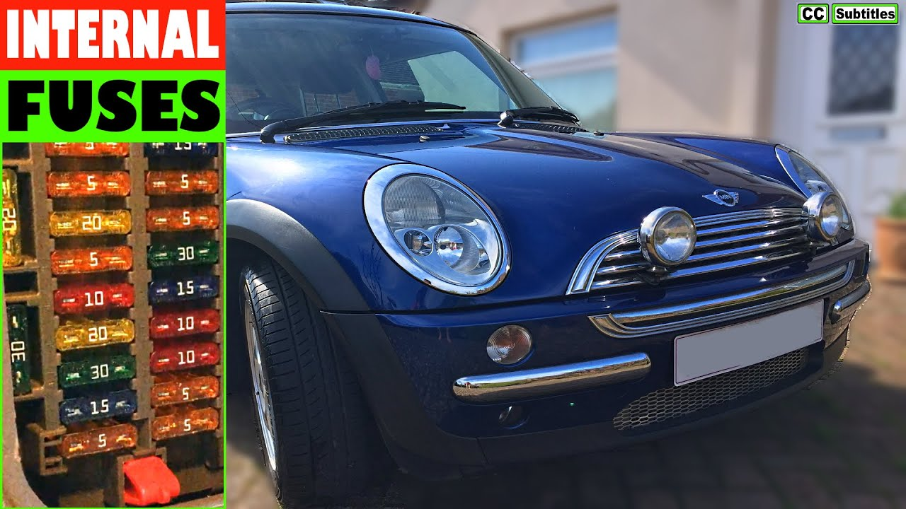 mini cooper fuse box replacement how to check fuses on mini r50 r53 2000 2006 first generation  check fuses on mini r50 r53 2000 2006