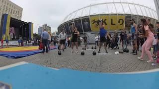Фейс-Оф. Соревнования по гиревому спорту на день физкультуры и спорта.