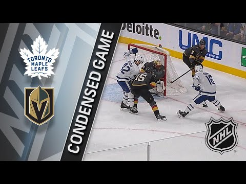 12/31/17 Condensed Game: Maple Leafs @ Golden Knights