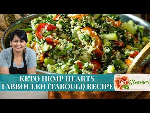 Keto Hemp Hearts Tabbouleh (Tabouli) Recipe
