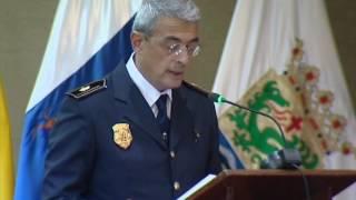 Acto institucional de entrega de Distinciones y Reconocimientos del Cuerpo de la Policía Local, Pue