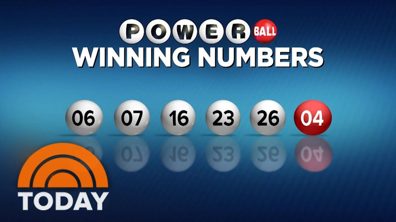 Only 1 Winner In $758 Million Powerball Jackpot | TODAY - YouTube