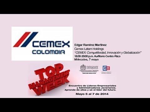 Edgar Ramirez de Cemex en Top Management Week 2014 :: Universidad Javeriana