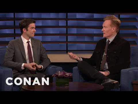 """John Mulaney Played A Very Believable A**hole On """"Crashing"""" - CONAN on TBS"""