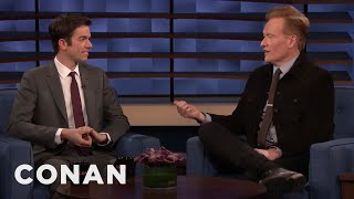 "John Mulaney Played A Very Believable A**hole On ""Crashing"" - CONAN on TBS"