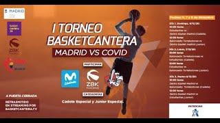 Directo - U18M - MOVISTAR ESTUDIANTES vs. CB ZENTRO BASKET.- I Torneo BasketCantera.TV