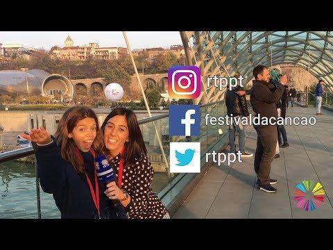 "#JESC: Mariana Venâncio conhece a capital da Geórgia: ""Tblisi é fantástica"" | RTP"