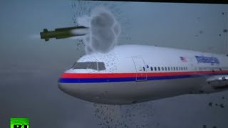 Dutch Safety Board simulates MH17 being hit by BUK missile