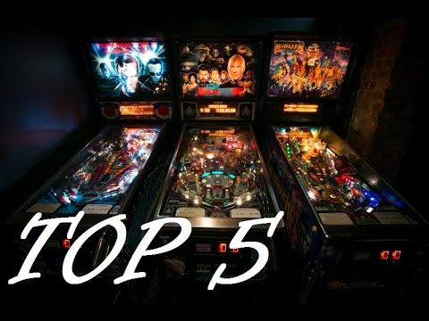 Top 5 Countdown: Favorite Pinball Machines - YouTube