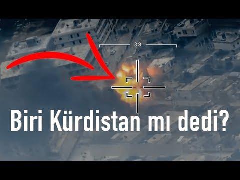 Afrin Leşleri - Afrin Harekatı YPG PKK Gerçek Çatışma Görüntüleri