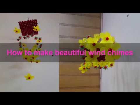 Bell wind crystal beautiful shimmer| wind chimes handmade| DIY room
