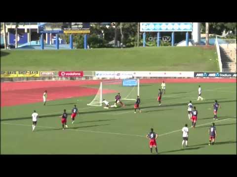 2014 OFC U-20 Championship / MD1 / American Samoa vs Fiji Highlights