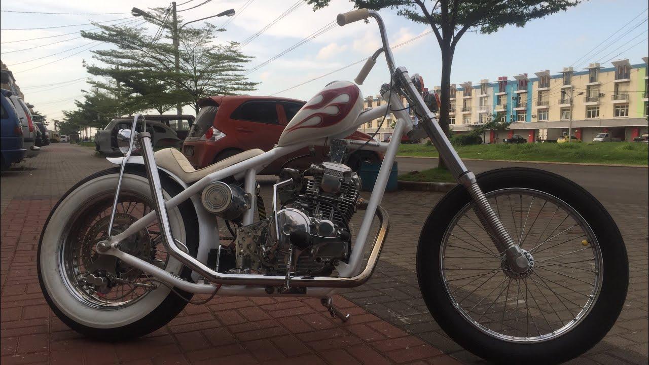 Koleksi Gambar Modifikasi Chopper Yamaha Scorpio