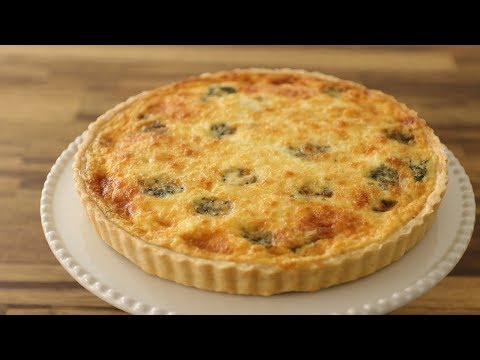 Spinach and cheese Quiche Recipe
