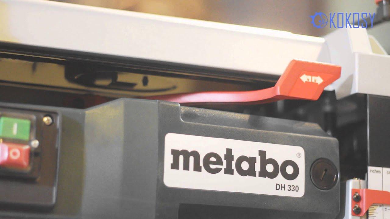 METABO DH 330 ( проблема ) - YouTube