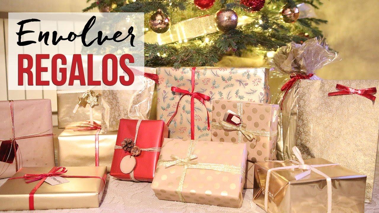 Ideas para envolver regalos de navidad bonitos youtube for Ideas para envolver regalos