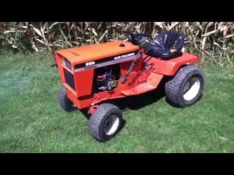 Rare Allis Chalmers 920 diesel garden tractor YouTube