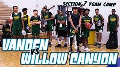 Vanden (CA) vs Willow Canyon (AZ) | Section 7 Team Camp | Phoenix, AZ