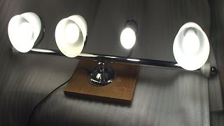 DIY: Home made work light from a bathroom light