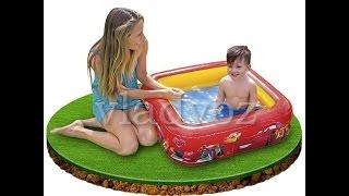 Детский надувной бассейн 57101 intex тачки обзор от vladvoz.in.ua
