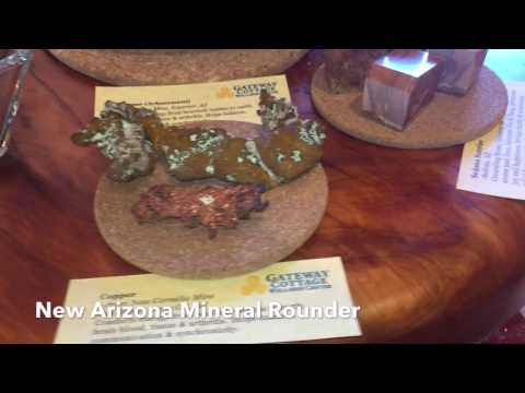 New! Arizona Mineral Display