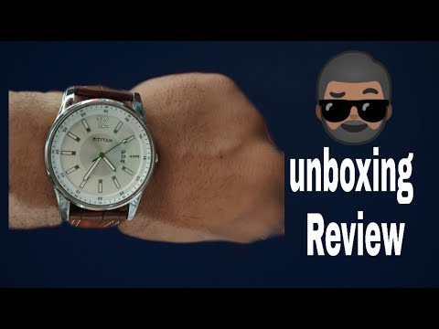Unboxing Titan watch 😯😯😯😯Titan Men's Watch