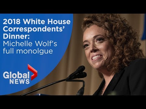 Michelle Wolf FULL White House Correspondents' Dinner monologue