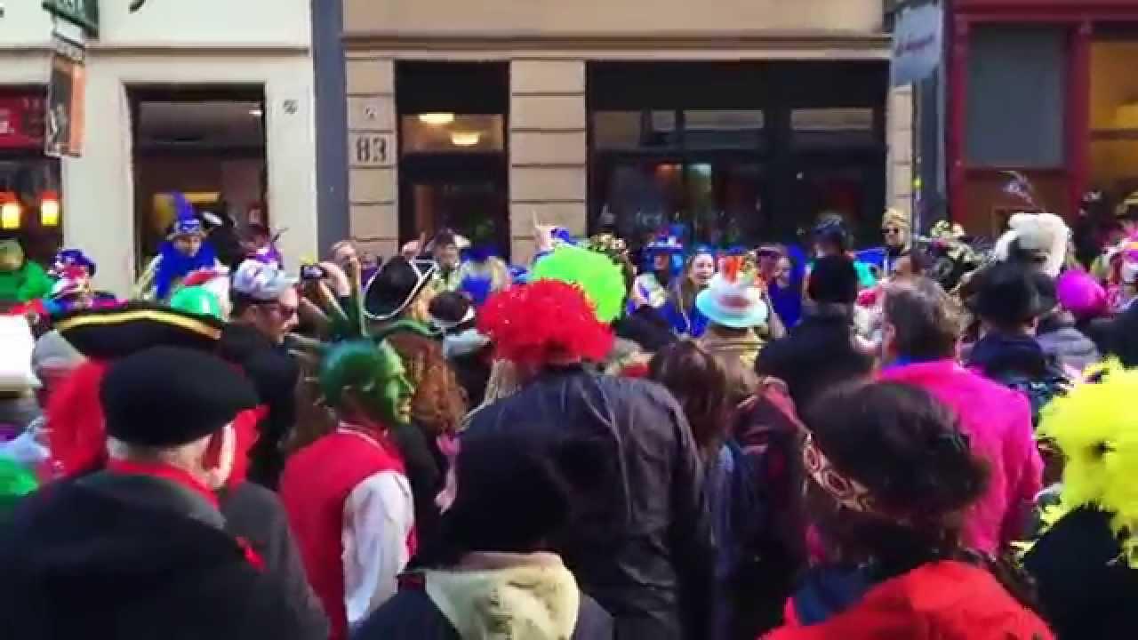 Köln Karneval 2015 Rosenmontag (Friesenstraße, Full HD)